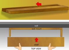 Build Simple Floating Shelves - wikiHow