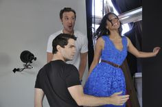 Sam Witwer, Sam Huntington and Meaghan Rath of Syfy's Being Human