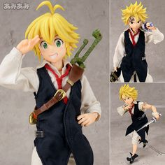 AmiAmi [Character & Hobby Shop] | Real Action Heroes No.709 RAH The Seven Deadly Sins - Meliodas(Released)