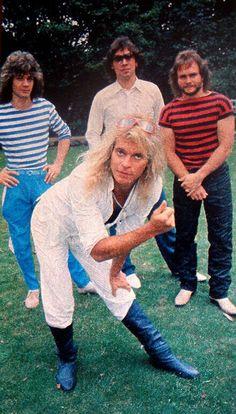 Van Halen in Red, White & Stripes.