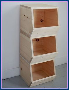 Ana White Build A Diy Wooded Bins - Featuring The Merry Thought Free And Easy Diy Project And Furniture Plans Small Woodworking Projects, Easy Small Wood Projects, Wood Projects That Sell, Wood Projects For Beginners, Carpentry Projects, Woodworking Patterns, Wood Working For Beginners, Custom Woodworking, Easy Diy Projects