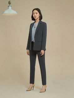 Kim Go Eun Style, My Style, Diy Fashion Hacks, Office Outfits Women, Kdrama Actors, Tie Blouse, Korean Actresses, Some Girls, Girl Crushes
