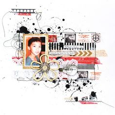by Meihsia Liu Scrap & Music: Sketch #1 - Here, There and Everywhere...
