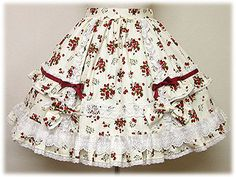 2006 Petit Berry Skirt by Angelic Pretty