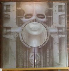 ON SALE NOW 1 Emerson Lake & Palmer / Brain Salad Surgery /Orig Press\Poster / Vinyl LP Record