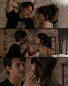 500 days of summer- Zooey Deschanel & Joseph Gordon-Levitt