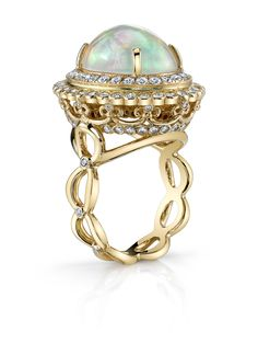 Stunning Erica Courtney Opal Ring at @McCaskill & Company