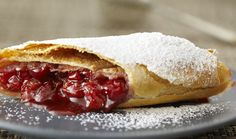Classic Cherry Strudel : Bake with Anna Olson : The Home Channel