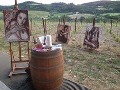 Vino e marmo bianco: Rogai, un omaggio alle donne: 16 luglio alla Galleria Open One Pietrasanta....