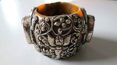 Antique vintage ethnic tribal Sterling silver door tribalgallery