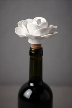 Cape Jasmine Bottle Stopper by BHLDN