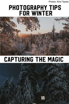 How to enjoy photographing on cold winter days? In winter, there are a few challenges which are good to know beforehand. For example, if the thermometers show -30°C or when the sun doesn't rise at all. Winter Photography, Night Photography, Photography Tips, Winter Magic, Winter Day, Polar Night, Snowy Trees, Winter Light, Warm Outfits