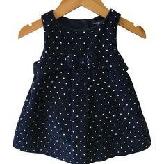 Baby Gap Corduroy Polka Dot Dress
