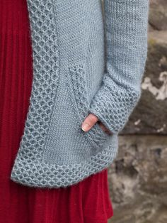 From the incomparable Ysolde Teague. There are so many fabulous Scottish knit designers!