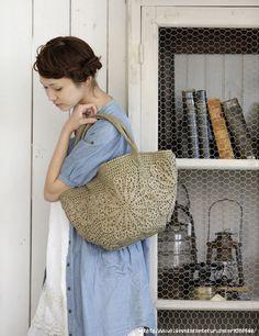 Nice crochet bag