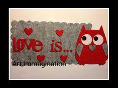 Targhetta Love is...2