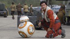 Oscar Isaac/Poe Dameron and BB8