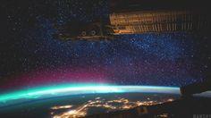 La Tierra desde la estación espacial ISS Foto