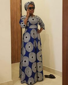 The gorgeous ones wear deena's_c 😉😍 African Dresses For Kids, African Maxi Dresses, African Fashion Ankara, Latest African Fashion Dresses, African Print Fashion, African Attire, Ankara Long Gown Styles, African Blouses, Africa Dress