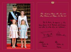 Felecitación de Navidad de los Reyes de España