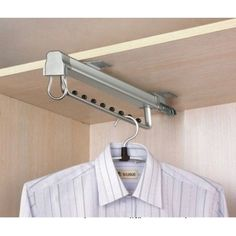Pull Out clothes rail hanger
