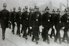Grimsby Borough Police Mayor parade, 1919 Police Uniforms, Police Officer, Police Crime, Working Man, British History, Amelia, Law, Memories, Vehicles