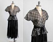 Vintage 1940's dress