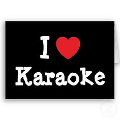 i heart karaoke