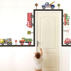 Terrific Trucks Wall Decals