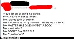 Parenting Fails: Sock it to Me