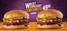 Buy 1 Get 1, Hamburger, Ethnic Recipes, Food, Essen, Burgers, Meals, Yemek, Eten