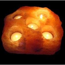 Himalayan Salt Natural Candles Holder