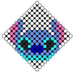 Stitch perler bead pattern