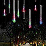 Pinwheel Meteor Shower LED Light50cm 8 Tubes 240 LEDs Falling Rain Drop Lights Icicle String Raindrop Cascading... christmas deals week