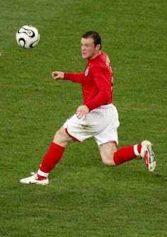 Wayne Rooney of England in action at the 2006 World Cup Finals.