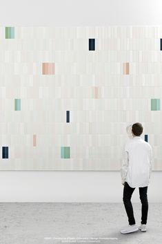 """""""Cromatica"""", the collection designed by Formafantasma for CEDIT- Ceramiche d'Italia, investigates the potential of colour in contemporary ceramic covering manufacturing.  #cedit #ceditceramicheditalia #ceramic #cromatica #design #madeinitaly #formafantasma"""