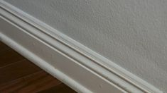 Thin baseboard and molding such as this are very difficult to tape off, and no other edgers can come even near to handling these types of area. # DIY Home Decor videos Painting Difficult Thin Baseboard Trim and Edges
