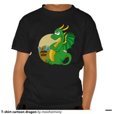 T-shirt cartoon dragon