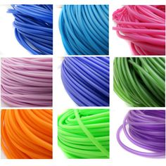 PVC Tubing 3 Mtr length hollow rubber cord for jewellery making, rubber tubing, hollow PVC cord - Choice of 10 Colours jewelry tubing UK Diy Jewelry, Jewelery, Pvc Tube, Jewelry Making Kits, Neoprene Rubber, Head Pins, Cord, Etsy, Fabric
