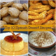 Easy spanish dessert recipes in english