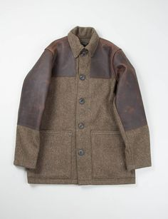 Nigel Cabourn Army HB Wool Donkey Jacket