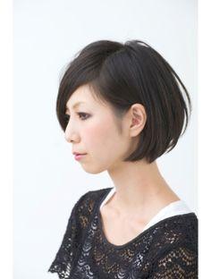 ヘアメイクサロンブームヘアデザイン(boom hair design) アシメ ストレートボブ