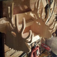 Bow rack in progress.