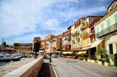 빌프랑슈 쉬르메르 노천 카페 Villefranche Sur Mer, Street View, Nice, Places