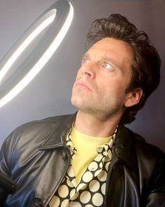 Sebastian Stan, Steel Blue Eyes, Bucky Barnes Imagines, Michael Fisher, Beautiful Men, Beautiful People, Heart Exploding, Becoming An American Citizen, Winter Soldier Bucky