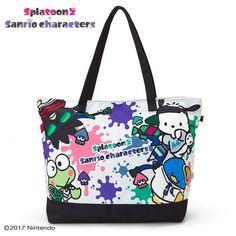 a16434985 Hello Kitty Sanrio [New] Splatoon2 Big Tote Bag Kawaii Japan Free Shipping  Big Tote