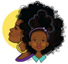 Mommy and Me T-Shirt Designs. Inspired by Alex Elle. Art by Keturah Ariel.   To purchase tees: Go to Keturah Ariel's BigCartel or Etsy