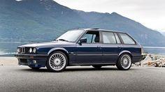 E30 touring with Alpina wheels.