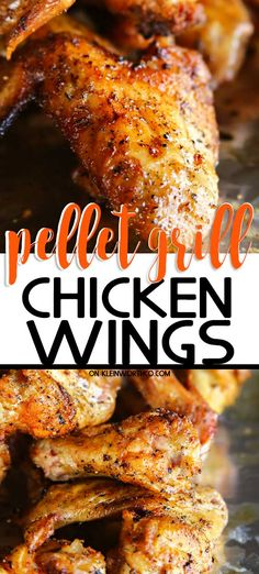 Break out your Traeger, these Pellet Grill Chicken Wings are out of this world. So easy to make, perfect for summer bbq's, tailgating or any game day party.