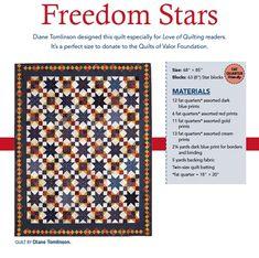 Freedom Star Digital Pattern
